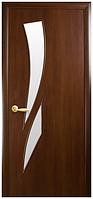 Камея - Орех 3d (60, 70, 80, 90см). Коллекция Модерн. Межкомнатные двери МДФ Новый Стиль