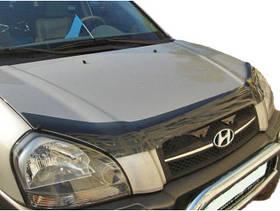Дефлектор капоту ( мухобійка ) Hyundai Tucson 2005-2015
