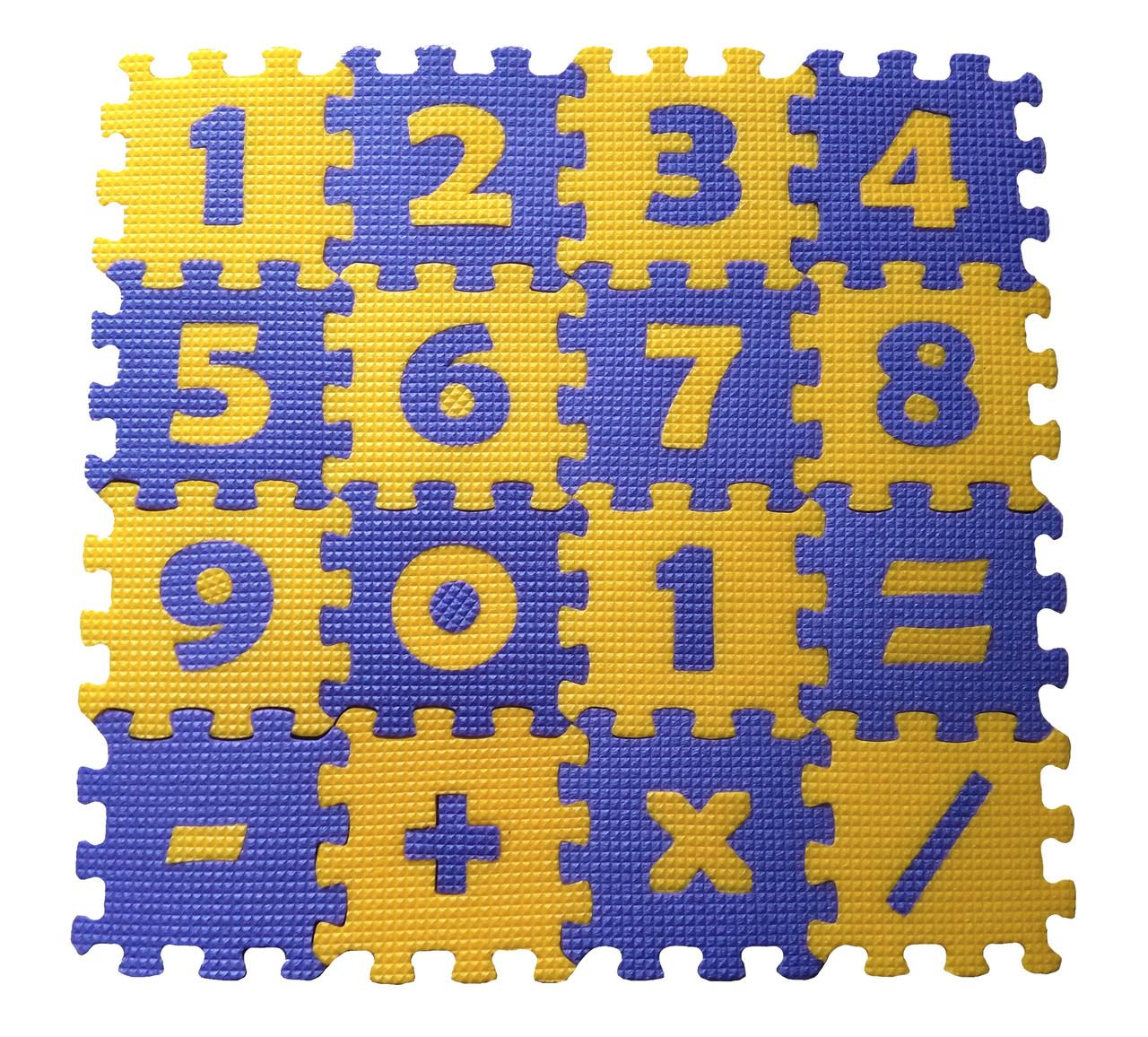 """Развивающий коврик-пазл """"Математика"""""""