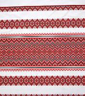 Ткань на рушник с украинской вышивкой Аншлаг ТДК-109 2/1, фото 1