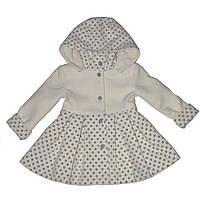 """Пальто для девочки """"Полинка"""" от ТМ Деньчик  (арт 7015)"""