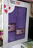 Комплект красивых полотенец