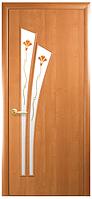 Лилия-Р1 Ольха (80см). Коллекция Модерн. Межкомнатные двери МДФ Новый Стиль