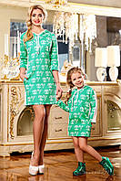 Стильное платье для девочки с капюшоном | Весна 2016