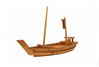 Корабль для суши деревянный c мачтой (60 см.)