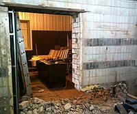 Демонтаж стен (Толщина 400 мм)