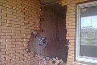 Демонтаж кирпичной стены до 20см