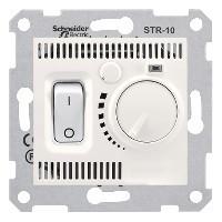 Термостат Schneider-Electric Sedna комнатный 10А слоновая кость ( SDN6000123 )