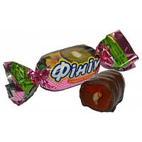 Финик в шоколаде с грецким орехом