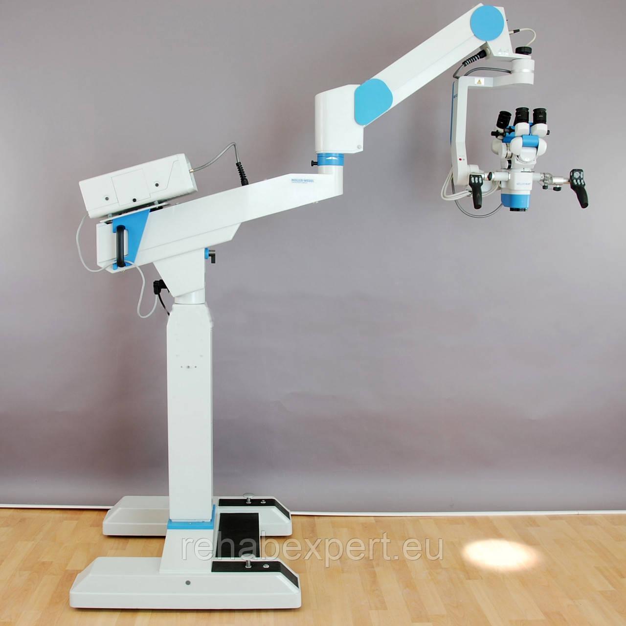 Операционный Микроскоп для нейрохирургии Moller-Wedel Hi-R 1000 Neurosurgery Microscope