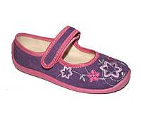 Текстильная обувь для девочки Waldi