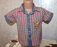 Рубашка на мальчика 2 года