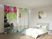 Фотокомплект орхидея на камнях