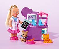 """Кукольный набор Эви """"Ветеринар для домашних любимцев"""" Evi Love Simba"""