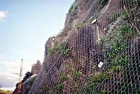 Сетки двойного кручения для защиты от камнепадов