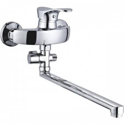 Смеситель для ванны Zegor Z63 NGB-A185, фото 2