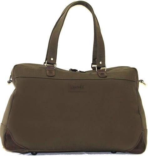 Дорожная удобная сумка из натурального хлопка 30 л. VATTO 14Hl5Kr450 серый