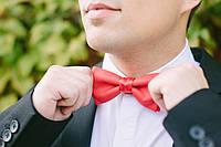 Бабочка галстук красный ( Ба-1-3)
