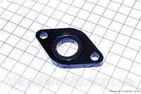 Прокладка патрубка карбюратора (пластмасс) + манжет скутер 50-100 куб.см