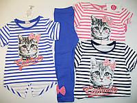 Комплект-двойка для девочки, размеры  98,104,110,116,122,128, Glostory, арт.GLT 1533