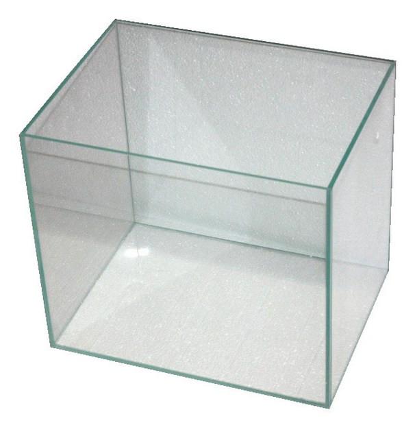 Наноаквариум из ультрапрозрачного стекла оптивайт. Сверхпрозрачное стекло.