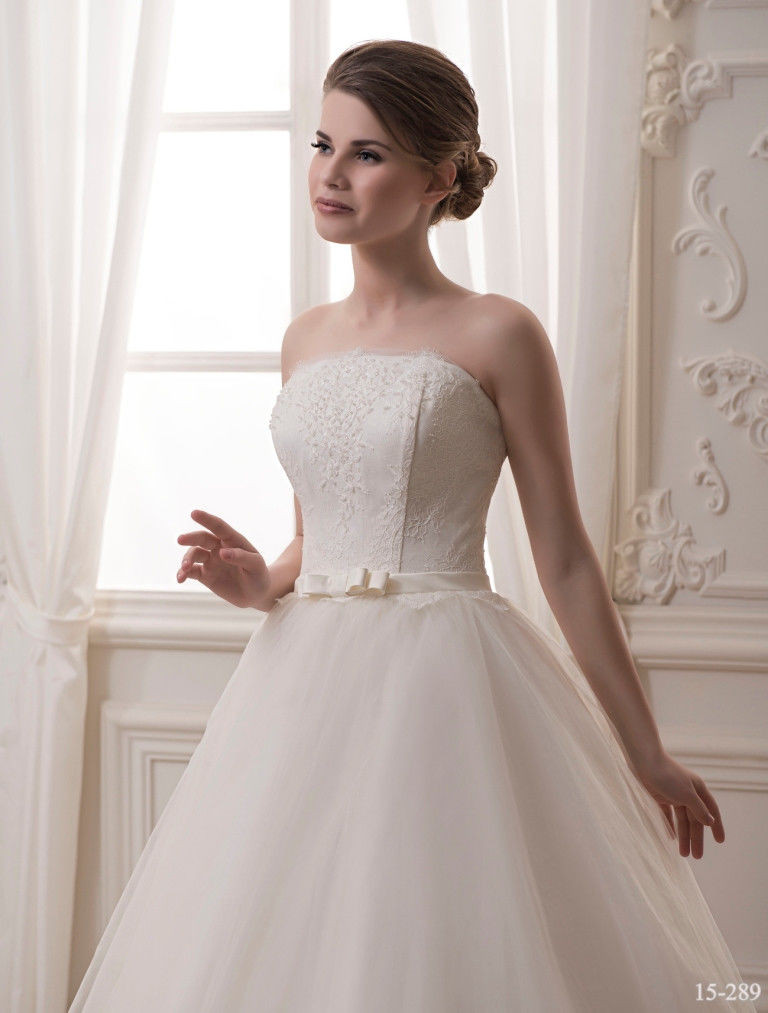 f3e8d5a87bd Классическое свадебное платье с бисером - купить по лучшей цене в ...