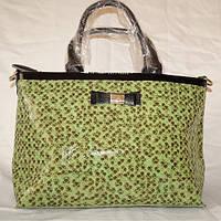 Кожаная женская сумка Fika Montino с лазерной обработкой, фото 1