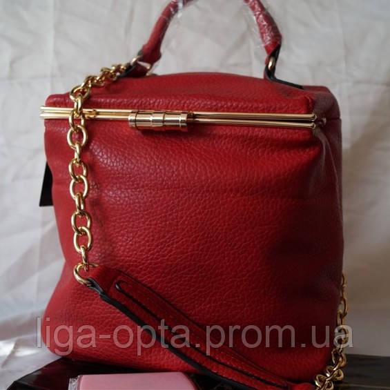 766aaec97b85 Оригинальная женская сумка - рюкзак - саквояж Fika Montino Экокожа -  Оптовый интернет-магазин