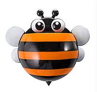 Держатель для зубных щеток и паст Пчелка (Оранжевый)