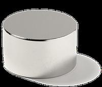 Неодимовый магнит хром 70мм/40мм (200 кг)