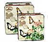 Скринька вінтажна Метелики в стилі Прованс набір 2 шт