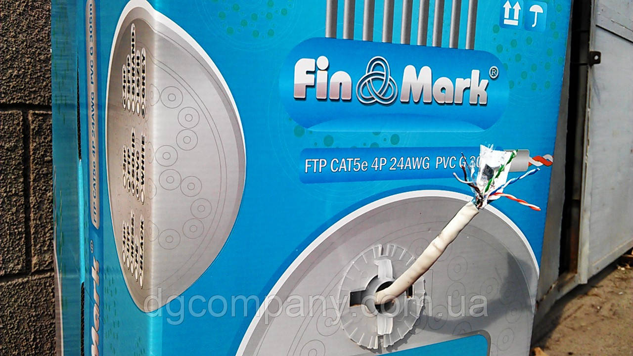 Кабель витая пара Finmark  FTP внутренний,медный,305м