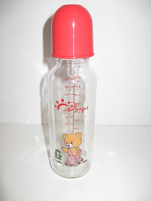 Бутылочка стекляная 250 мл, арт. 31045