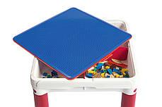 Стол для игры с конструктором 3в1 Keter Constructable 17210603, фото 3