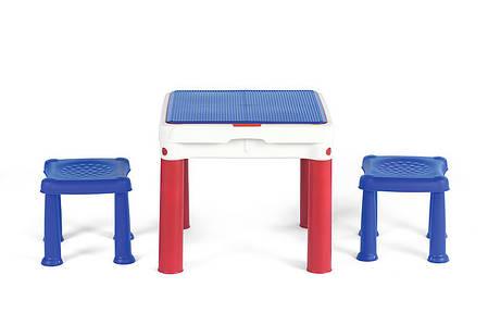 Стол для игры с конструктором 3в1 Keter Constructable 17210603, фото 2