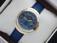 Мужские (Женские) кварцевые наручные часы Tissot Mini на кожаном ремешке с датой