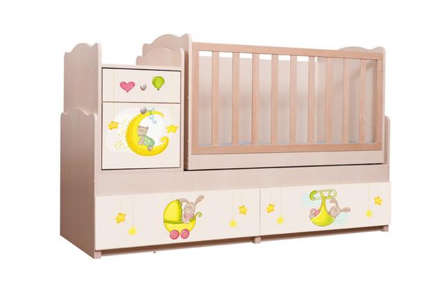 Дитяче ліжко ― трансформер фотодрук