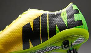 Бутсы Nike Mercurial Vapor IX FG 555605-703 Желтые, Найк меркуриал (Оригинал), фото 2
