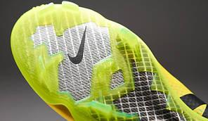 Бутсы Nike Mercurial Vapor IX FG 555605-703 Желтые, Найк меркуриал (Оригинал), фото 3