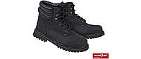 Ботинки защитные кожа типа нубук, водостойкая резиновая подошва носок из композиционного материала