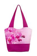 Текстильная женская сумка Орхидея, фото 1
