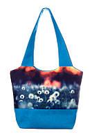 Весенняя женская сумка с одуванчиками