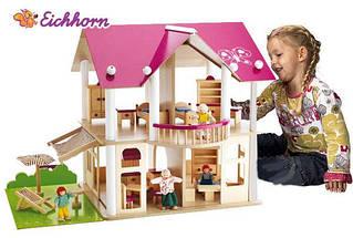 Будиночок для ляльок дерев'яний Eichhorn 2513