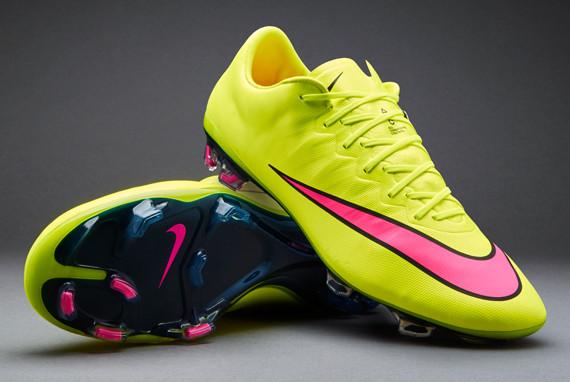Бутсы Nike Mercurial Vapor X FG 648553-760 Желтые, Найк меркуриал (Оригинал)