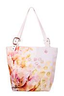 Женская текстильная сумка-трапеция Нежность, фото 1