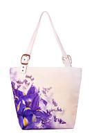 Женская текстильная сумка-трапеция Экзотика, фото 1