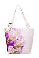 Женская текстильная сумка-трапеция Романтика, фото 1