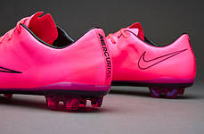 Бутсы Nike Mercurial Vapor X FG 648553-660 Розовые, Найк меркуриал (Оригинал), фото 2