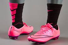 Бутсы Nike Mercurial Vapor X FG 648553-660 Розовые, Найк меркуриал (Оригинал), фото 3