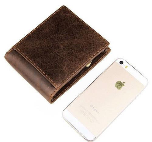 Функциональный мужской кожаный кошелек S.J.D. 8054B